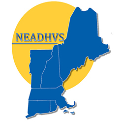 NEADHVS chapter logo