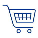 gift shop cart icon